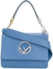 Fendi - Kan I F shoulder bag - women - Leather - One Size - BLUE