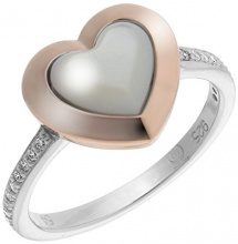 Orphelia Piercing ad anello Donna argento - ZR-7289/RG/52