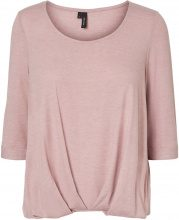 VERO MODA Casual 3/4 Sleeved Blouse Women Purple