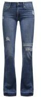 CHARLIZE - Jeans a zampa - mid indigo