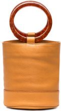 Simon Miller - Borsa a secchiello 'Bonsai' - women - Leather - OS - Giallo & arancio