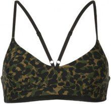 The Upside - leopard print sports bra - women - Polyamide/Spandex/Elastane - XXS, XS, S, M, L, XL - GREEN