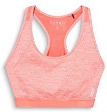 ESPRIT Sports 077ei1t008-e-Dry Bra Top, Reggiseno Donna, Arancione (Salmon 2 861), (Taglia Produttore: Small)