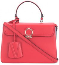 Versace - Borsa Tote 'DV One' - women - Calf Leather - OS - RED