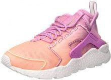 Nike Wmns Air Huarache Run Ultra BR, Scarpe da Ginnastica Donna, Multicolore (Orchid/Orchid/Sunset Glow/White), 38 EU