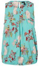VERO MODA Floral Sleeveless Top Women Blue