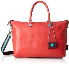 GABS Katia Tg L - Shopping Escudo Borsa Donna, Rosso, 15x25x35 cm (B x H T)