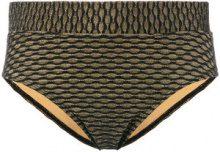 Marlies Dekkers - Holi Vintage fold down briefs - women - Polyamide/Spandex/Elastane - S - Nero