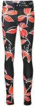 The Upside - floral-print leggings - women - Polyamide/Spandex/Elastane - XXS, XS, S, M, L, XL - Nero