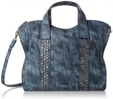 TamarisUrsula Shopping Bag - Borsa shopper Donna, Blu (Blau (denim)), taglia unica