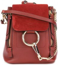 Chloé - Zaino 'Faye mini' - women - Leather - OS - RED