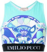 Emilio Pucci - Reggiseno sportivo stampato - women - Polyamide/Spandex/Elastane - 38, 42, 44 - MULTICOLOUR