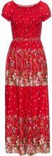 Abito con corpino elastico (Rosso) - BODYFLIRT boutique