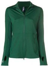 Adidas By Stella Mccartney - Top 'Performance Essentials Midlayer' - women - Polyamide/Spandex/Elastane - XS, S - GREEN