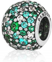 Pandora female 925 argento verde Zirconia cubica