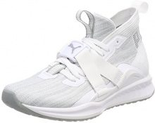 Puma Ignite Evoknit 2 Wn's, Scape per Sport Outdoor Donna, Bianco White-Quarry, 40.5 EU