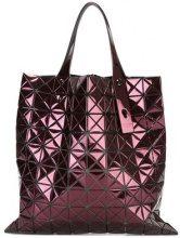 Bao Bao Issey Miyake - rectangular prism tote - women - Nylon/Polyester/Polyurethane - OS - PINK & PURPLE