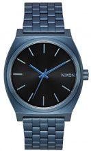 Nixon - Time Teller 37mm All Blue/Black Sunray - Orologio Unisex