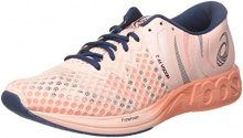 Asics Noosa FF 2, Scarpe da Running Donna, Rosa (Flash Coral/Black/Shocking Orange), 44.5 EU