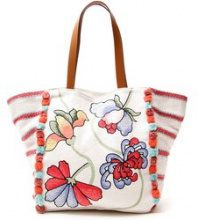 Maxi shopper in canvas