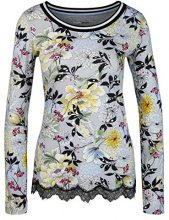 Marc Cain Sports HS 48.14 J58, T-Shirt Donna, Multicolore (Silver Cloud 803), 44 (N3/44)