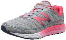 New Balance Fresh Foam Boracay - Zapatillas de running para mujer, Plata - Silber (SP2 SILVER/PINK), 39