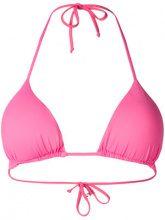 Fisico - Bikini triangolare - women - Polyamide/Spandex/Elastane - S, L - PINK & PURPLE