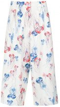 Olympiah - jellyfish print culottes - women - Polyester/Spandex/Elastane - 36, 38, 40, 42 - MULTICOLOUR
