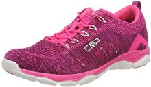 CMP Butterfly, Scarpe da Fitness Donna, Rosso (Borgogna-Pink Fluo), 36 EU