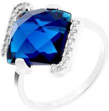Orphelia Donna  925  argento Quadrata   blu Zirconia cubica
