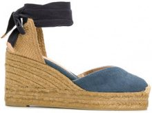 Castañer - Espadrillas con zeppa - women - Cotton/rubber - 36, 37, 38, 40, 39, 41 - BLUE