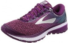 Brooks Ghost 10, Scarpe da Running Donna, Viola (Purple/Pink/Teal 1B511), 38.5 EU