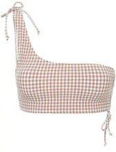 Peony - Bikini top - women - Polyester/Polyamide/Spandex/Elastane - 10, 12, 14 - BROWN