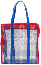 P.A.R.O.S.H. - contrast shopper tote - women - Polyester - OS - BLUE