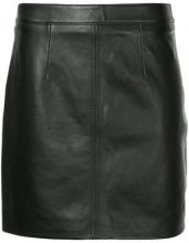 Nobody Denim - Cleanline Leather Skirt Blk Leather - women - Leather - XS, M, L - BLACK