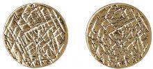 Pilgrim Jewelry - Orecchini a perno, Ottone, Donna