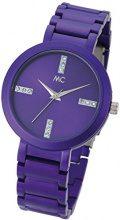 MC time Trend orologio da polso da donna al quarzo in alluminio 51678