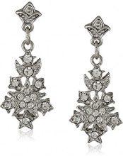 Downton Abbey–pavè di cristalli Starburst orecchini a goccia