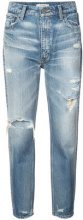 Moussy Vintage - Powell Boy skinny jeans - women - Cotton - 24, 25, 26, 27 - BLUE