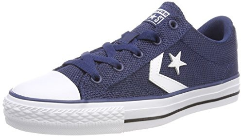 91f51146766115 Converse Star Player Ox Navy White Black