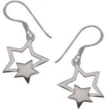 E-11001 - Orecchini pendenti da donna, argento sterling 925