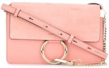 Chloé - small Faye shoulder bag - women - Calf Leather - One Size - PINK & PURPLE
