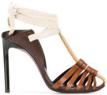 Saint Laurent - Sandali 'Majorelle 105' - women - Leather - 35, 36, 36.5, 37, 37.5, 39.5, 40 - BROWN