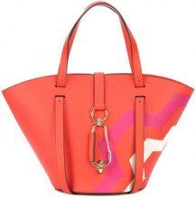 Zac Zac Posen - Belay print small tote bag - women - Calf Leather - OS - YELLOW & ORANGE