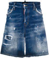 Dsquared2 - mid-rise denim shorts - men - Cotone/Spandex/Elastane/Polyester/Polyurethane - 44 - Blu