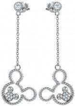 Orphelia Orecchini a pendolo e goccia argento - ZO-7365