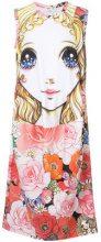 Comme Des Garçons - printed doll shirt dress - women - Polyester - XS, S, L - MULTICOLOUR