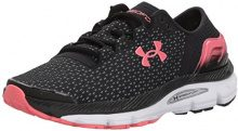Under Armour UA W Speedform Intake 2, Scarpe Running Donna, Nero (Black), 35.5 EU