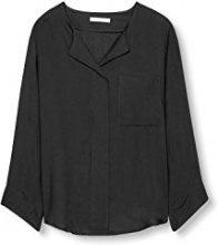 edc by Esprit 106cc1f014, Camicia Donna, Nero (Black), 36 (Taglia Produttore: Small)