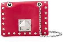 - Sonia Rykiel - Mini borsa con borchie - women - pelle - Taglia Unica - di colore rosso